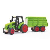 TRACTOR & HOPPER TRAILER