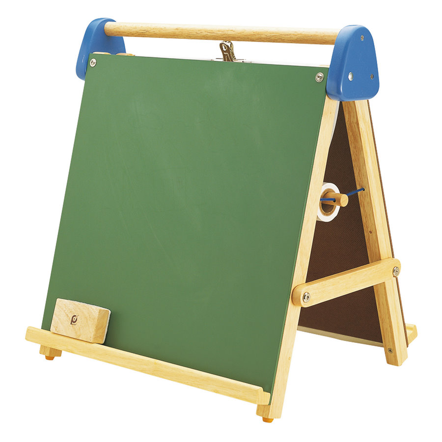 how to put up a wooden easel